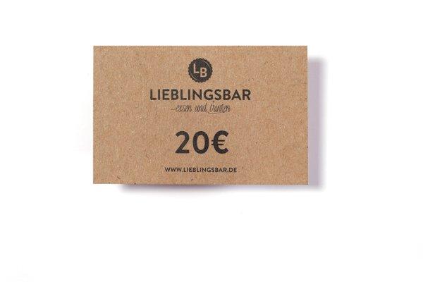 LieblingsGutschein 20 Euro