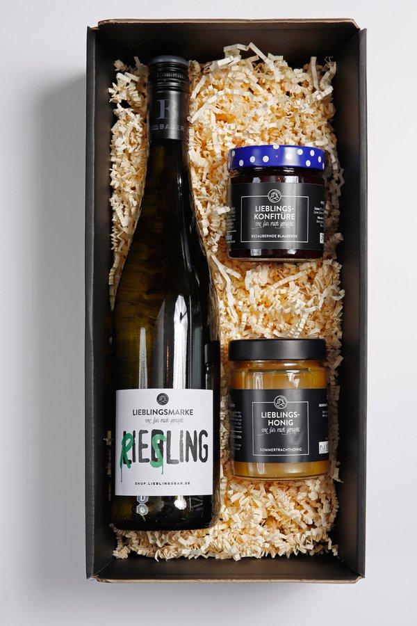 Geschenkbox mit 3 LieblingsProdukten