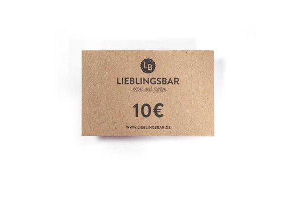 LieblingsGutschein 10 Euro